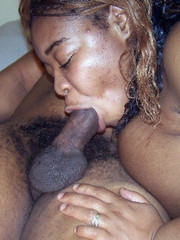 Dirty dude drilling fat african whore..